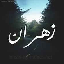 معنى اسم زهران Zahran وصفاتة
