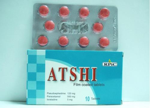 أتشى أقراص مسكن ومضاد للحساسية Atshi Tablets