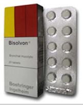 بيسلفون اقراص – مذيب البلغم الشعبي Bisolvon Tablets