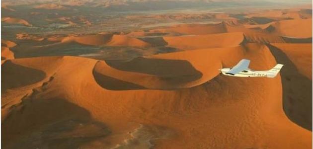 أين تقع صحراء كالاهاري