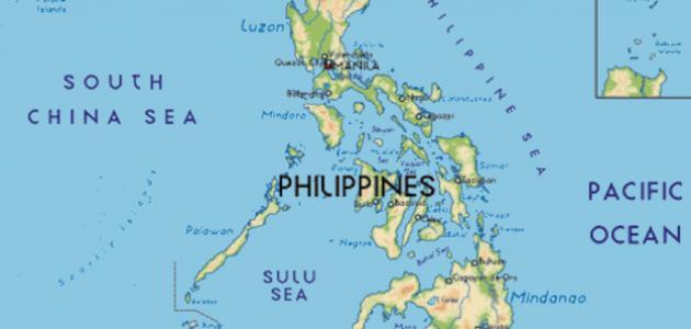 ما هي حدود دولة الفلبين؟