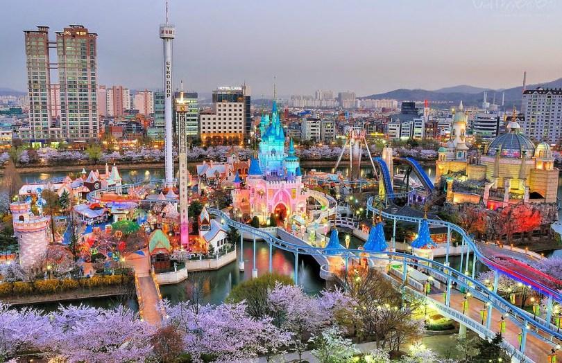 معالم كوريا السياحيه