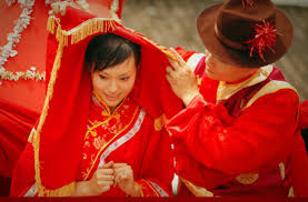 طريقة الزواج في الصين