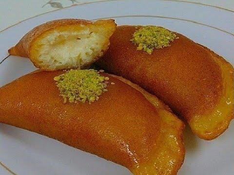 طريقه القطايف بالسميد لرمضان 2019