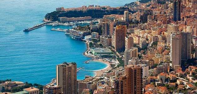 ما هي حدود دولة موناكو