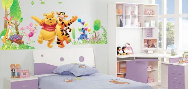 كيفية عمل ديكور غرف الاطفال وتزيينها