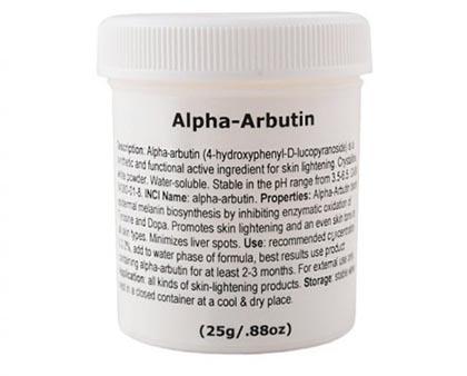 بودرة الفا اربوتين –  لتبييض البشرة Alpha Arbutin Powder
