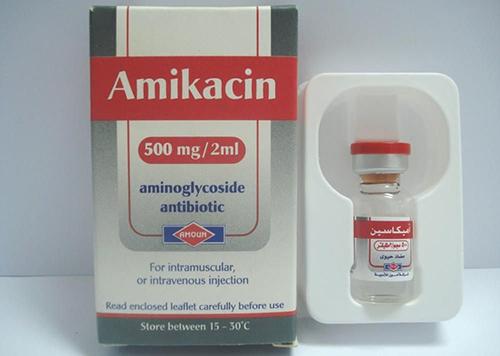 حقن أميكاسين مضاد حيوى واسع المجال Amikacin Injection