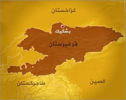 ماهي حدود دولة قيرغيزستان؟