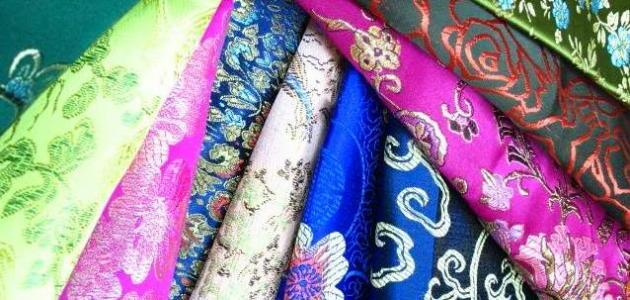 أنواع الأقمشة وأسماؤها – اسماء انواع القماش بالتفاصيل