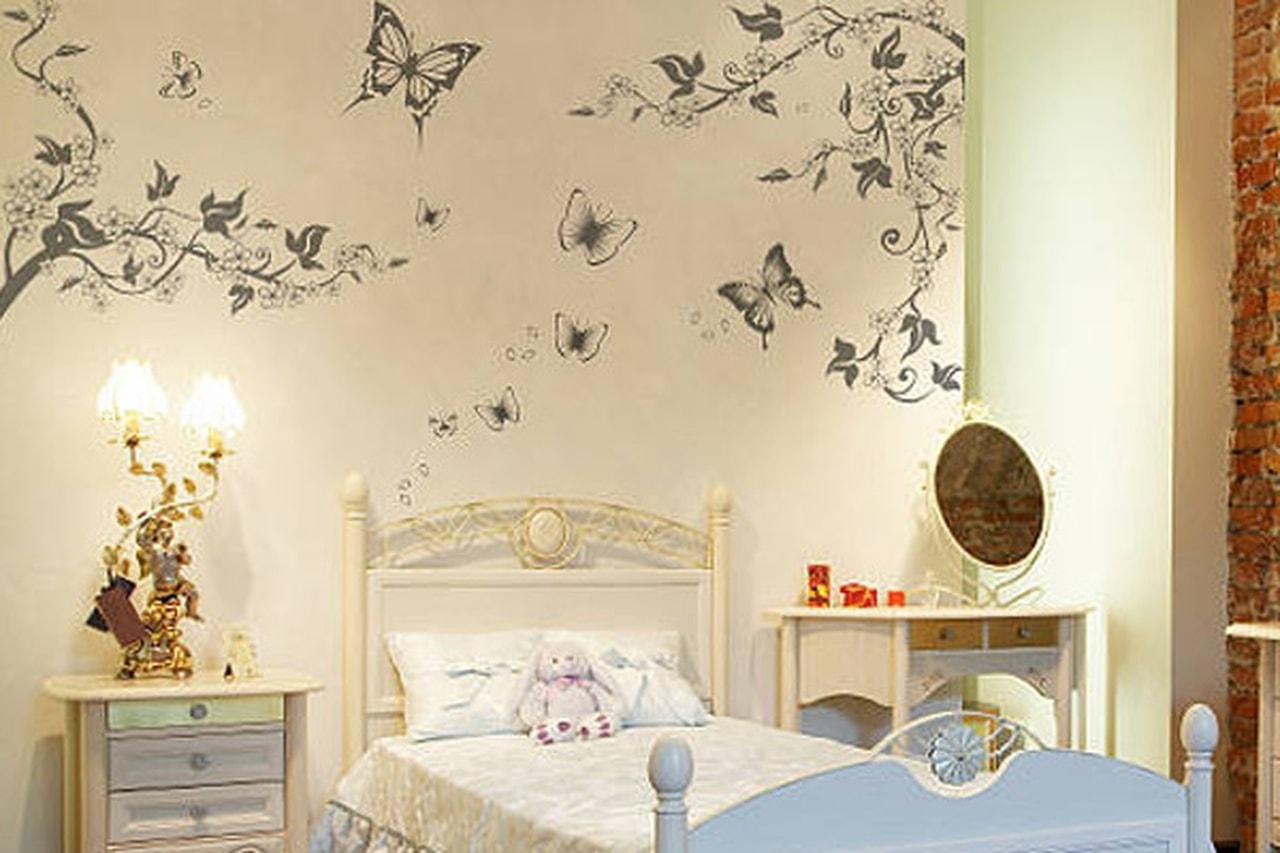 رسومات مخصصة لجدران غرف الاطفال