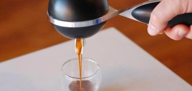 طريقة عمل القهوة الإسبرسو يدوياً