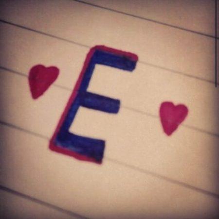 صور حرف E صور رومانسية خلفيات حرف E صور جميلة حرف E