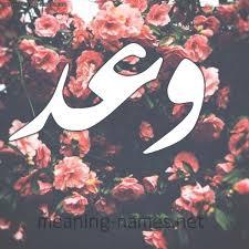 معنى اسم وعد Waad